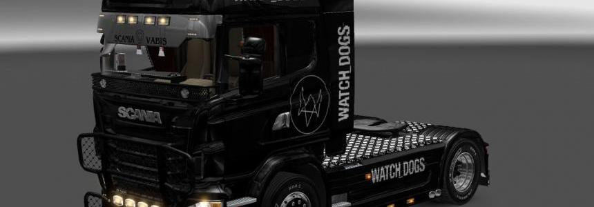 Watch Dogs Scania skin