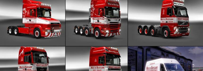 West Of Scotland Heavy Haulage Skin Pack