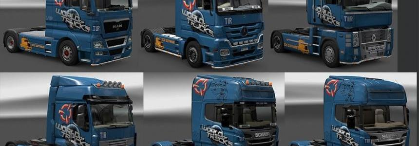 World Of Trucks Skin Pack