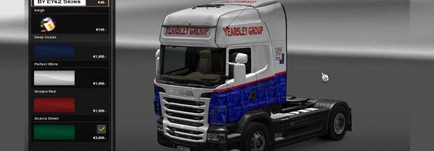 Yearsley Scania skin