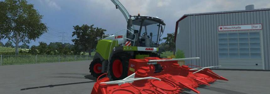 Claas Jaguar 960 and kemper v1