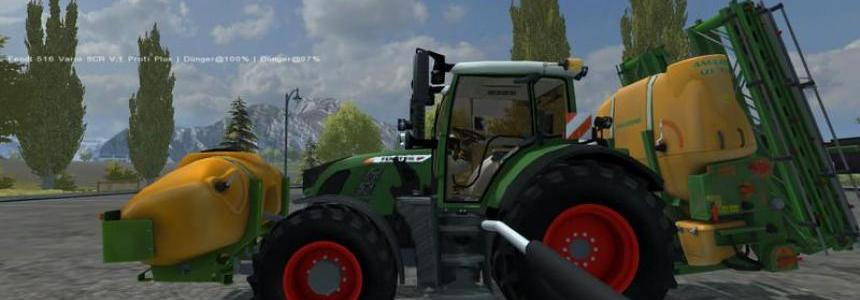Amazone UF with front tank v1.0