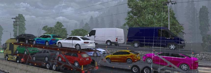 Audi Ford Car Transporter v1.5