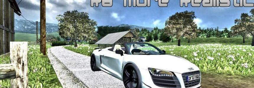 Audi R8 Spider v2.0 MR