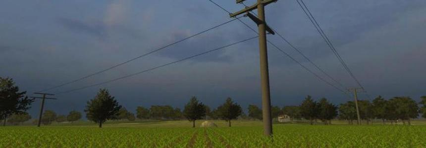 Electricity pylons made of concrete Pack v1.0