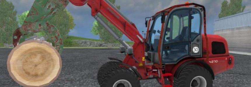 Forstkaefig for Weidemann TL v1.0
