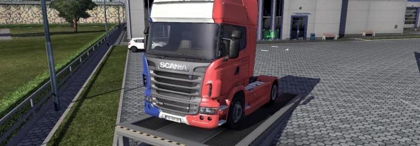 France Scania R skin