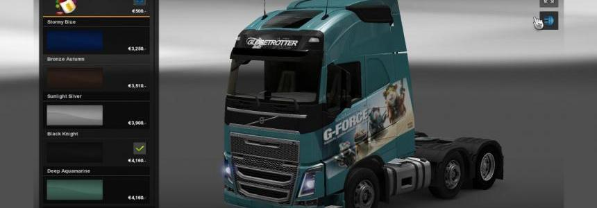 G-force Volvo skin