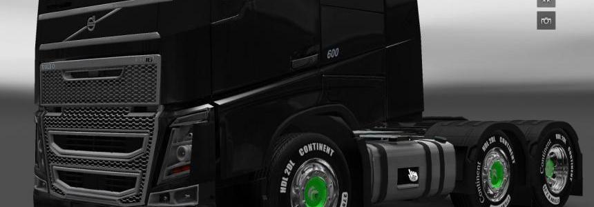 Green Sirius Wheels