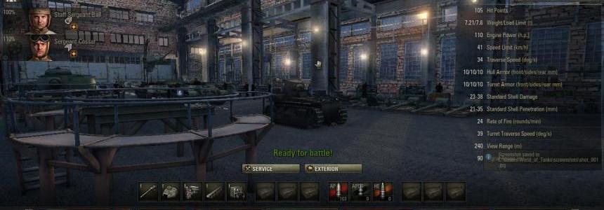 Hangar Tank Plant 8.11