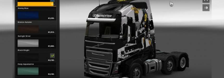 Infamous Second Son Volvo 2013 Truck With LightBox