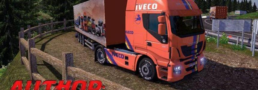 Iveco Hi-Way+Trailer Krone 1.9.22