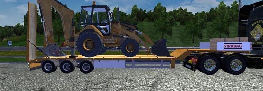JCB Excavator trailer