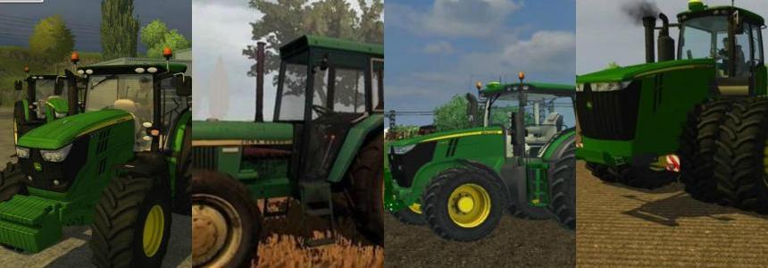 John Deere Tractors Pack 01
