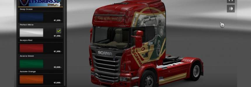JSC Scania Edition Skin