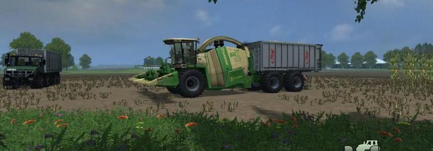 Krone Big X 650 Cargo HKL v1.0 Beta