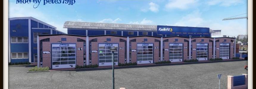 Kwik Fit Garage Skin