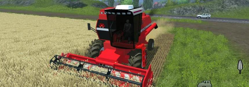 Massey Ferguson 5650 Turbo + Header