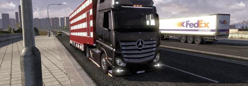 Mercedes Actros MP4 v4.0