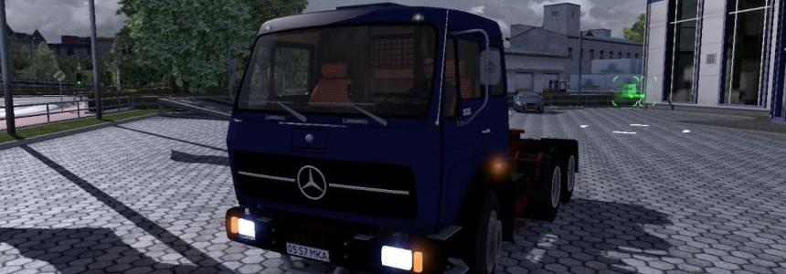 Mercedes NG1632 + Trailer v2.0
