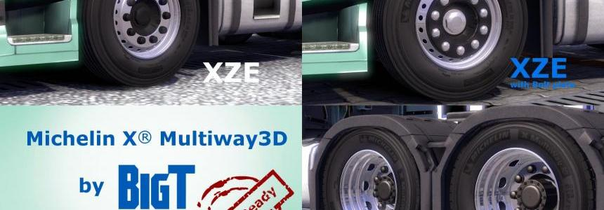Michelin X® Multiway3D Tires