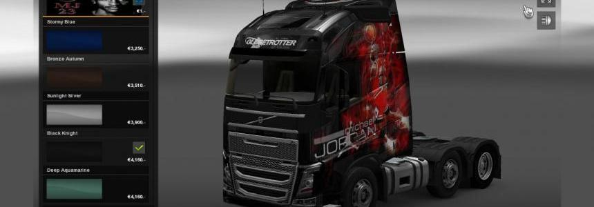 MJBulls skins for Volvo and Scania