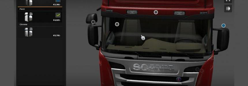 New Mirror Scania Streamline