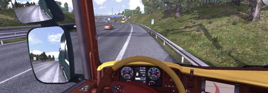 New Scania interior