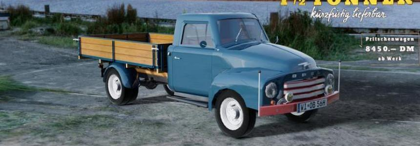 Opel Blitz flatbed 56 v1.1.2 additional bugfix