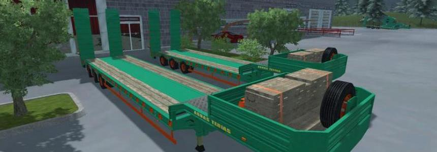 Pack Low Loader Aguas Tenias v1.0