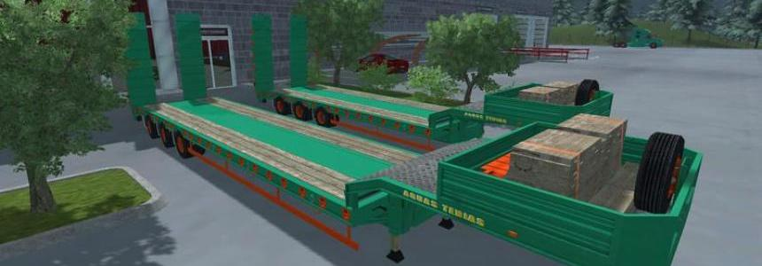 Pack Low Loader Aguas Tenias v3.0 MR