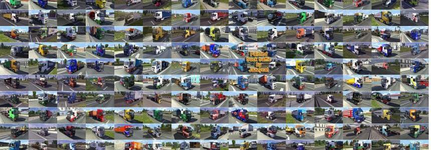 Painted truck traffic v1.3