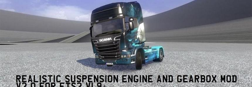 Realistic Suspension, Engine & Gearbox Mod v2.0