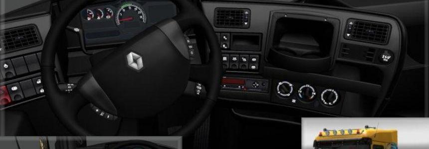Renault Magnum Black Interior