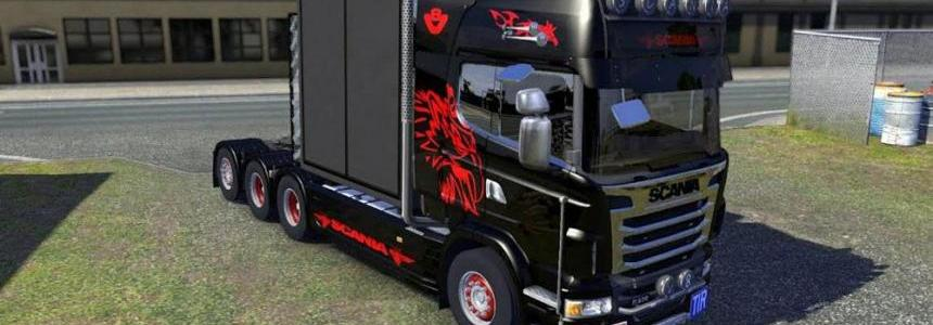 Scania Custom V8 Pipe Sound