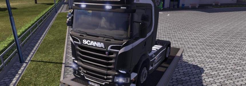 Scania J2414 Trucking Skin