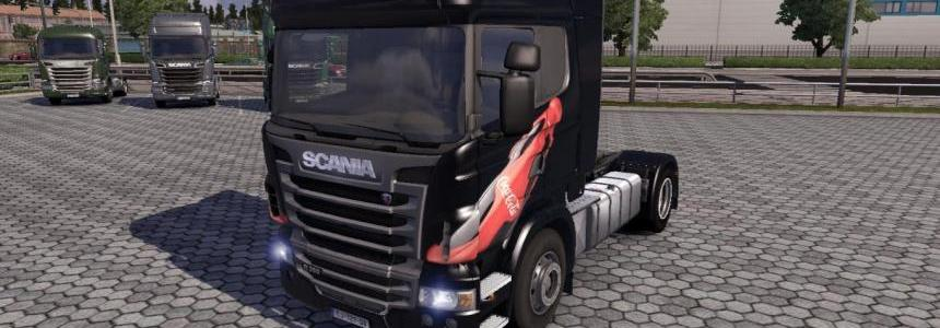 Scania R CocaCola and MezzoMix skins