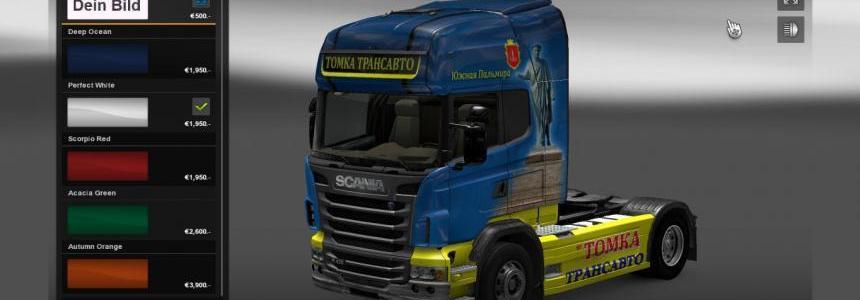 Scania R Tomka Skin