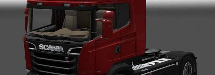 Scania Streamline gray chassis
