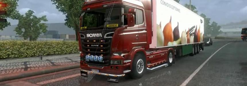 Scania Streamline open pipe 1.9.22