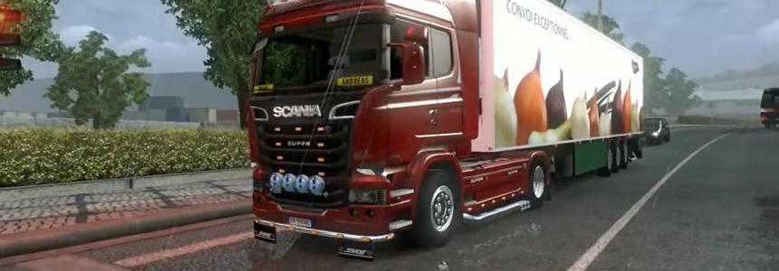 Scania Streamline open pipe 1.9.22