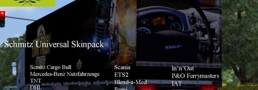 Schmitz Universal 15 Skins Pack