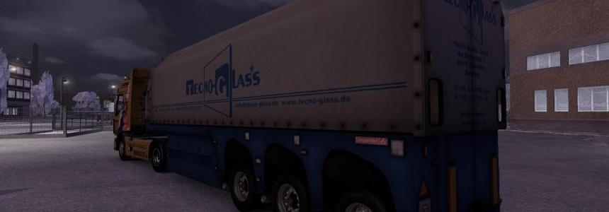 SCS glass trailer modified