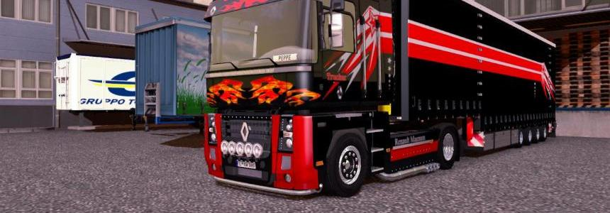 Skin Combo Pack for Renault Magnum