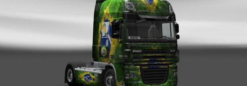 Skin DAF XF Brasil 2014
