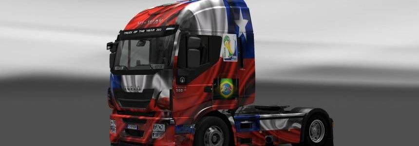 Skin Iveco Hi-Way Chile Copa 2014