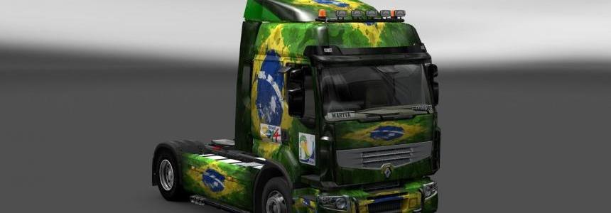 Skin Renault Premium Brasil 2014