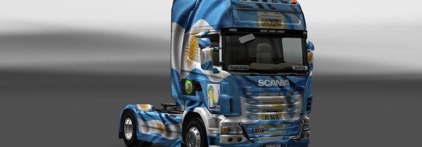 Skin Scania Argentina Copa 2014
