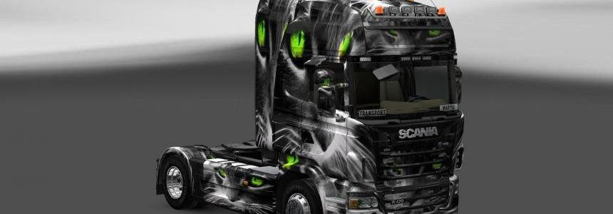 Skin Scania Cat 3D and Ferrugem