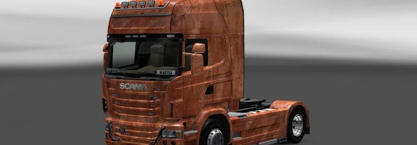 Skin Scania Ferrugem V3